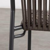 Pack 4 Sillas de Exterior de Aluminio y Textil Alorn, imagen miniatura 8