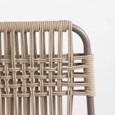 Pack 4 Sillas de Exterior de Aluminio y Textil Alorn, imagen miniatura 5