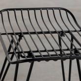 Taburete Bajo en Metal Born (45 cm), imagen miniatura 7