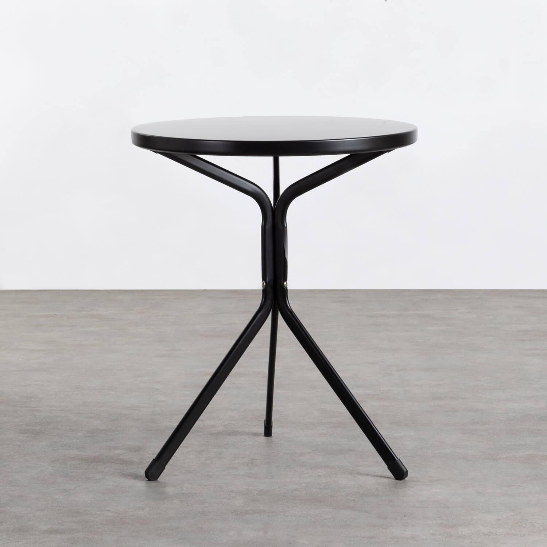 Mesa de Comedor Redonda de Metal (Ø60 cm) Enlo, imagen de galería 1