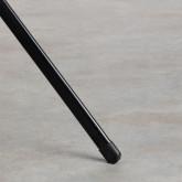 Mesa de Comedor Redonda de Metal (Ø60 cm) Enlo, imagen miniatura 3