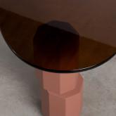 Mesa de Centro de Cristal y MDF Crima, imagen miniatura 5