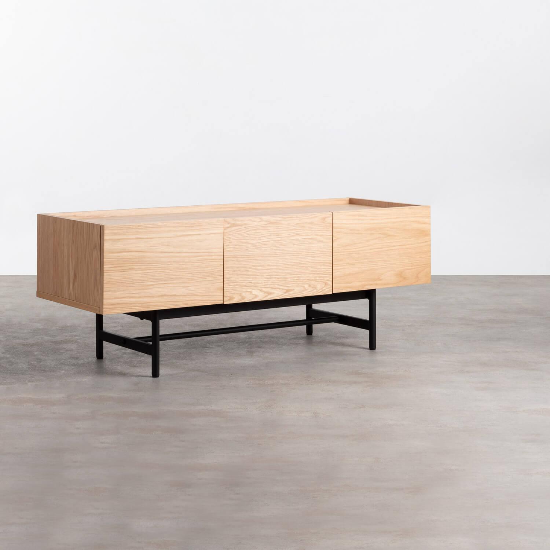Mueble de TV en MDF y Roble Tuika, imagen de galería 1