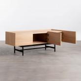 Mueble de TV en MDF y Roble Tuika, imagen miniatura 4