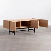 Mueble de TV en MDF y Roble Tuika, imagen miniatura 5