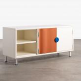 Mueble de TV de Madera y Metal Kuno , imagen miniatura 1