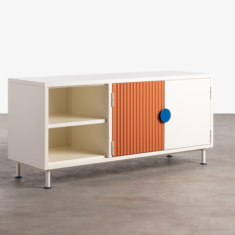 Mueble de TV de Madera y Metal Kuno , imagen de galería 1