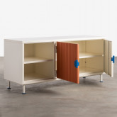 Mueble de TV de Madera y Metal Kuno , imagen miniatura 3