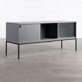 Mueble de TV de Acero Laminado y Vídrio Otse, imagen miniatura 1