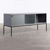 Mueble de TV de Acero Laminado y Vídrio Otse, imagen miniatura 4