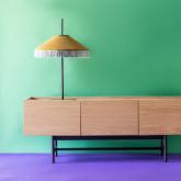 Mueble de TV en MDF y Roble Tuika, imagen miniatura 2