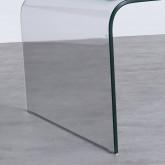 Mesa de Centro Rectangular en Cristal (120x60 cm) Curve, imagen miniatura 6