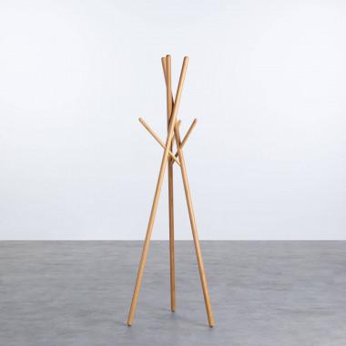 Perchero de Pie de Bambú (174 cm) Piy