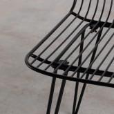 Silla de Comedor en Metal Born, imagen miniatura 6