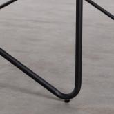 Mesa de Comedor de MDF y Metal  (160x84,7 cm) Rombio, imagen miniatura 8