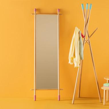 Espejo de Pie de Bambú (170 cm) Piy