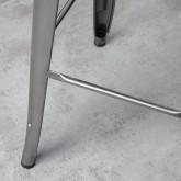 Taburete Alto en Acero Industrial West (76 cm), imagen miniatura 6