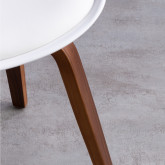Silla de Comedor en Polipropileno y Madera Future Wood, imagen miniatura 7
