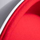 Sillón en Tela y Fibra de Vidrio Foco, imagen miniatura 6