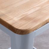 Taburete Alto en Acero Industrial Wood (66 cm), imagen miniatura 4