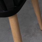 Silla de Comedor en Polipropileno y Acero Sindy, imagen miniatura 4