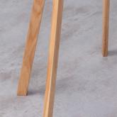 Lámpara de Pie en Madera y Tela Her, imagen miniatura 5
