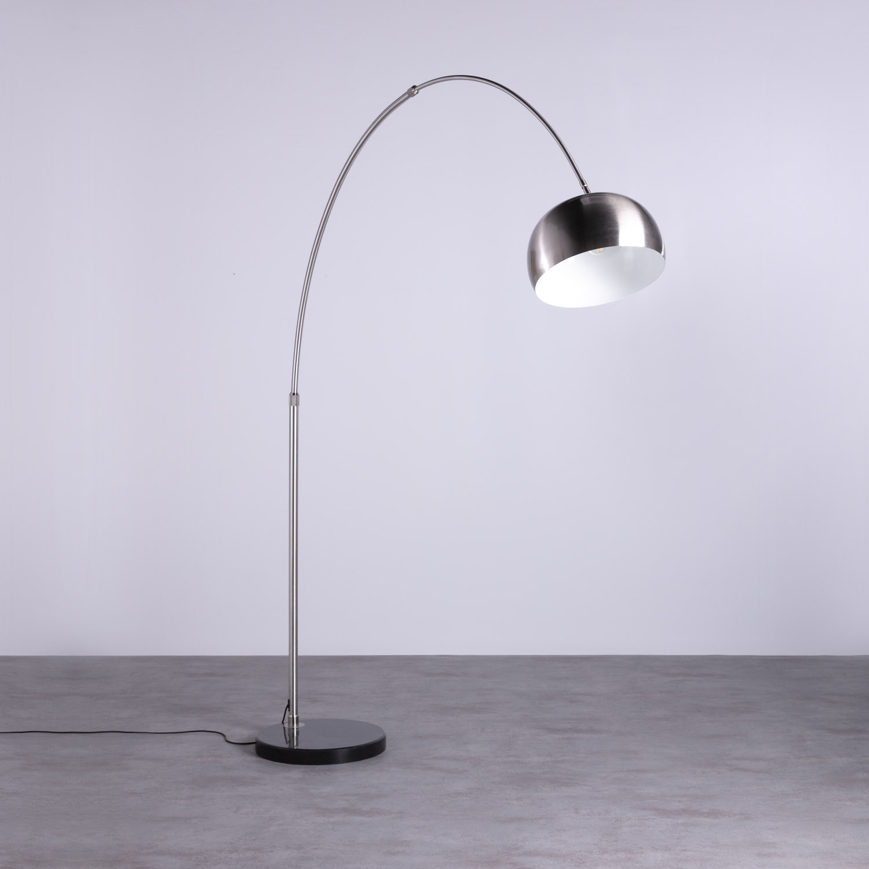 Lámpara de Pie en Acero y Mármol Gancio, imagen de galería 1