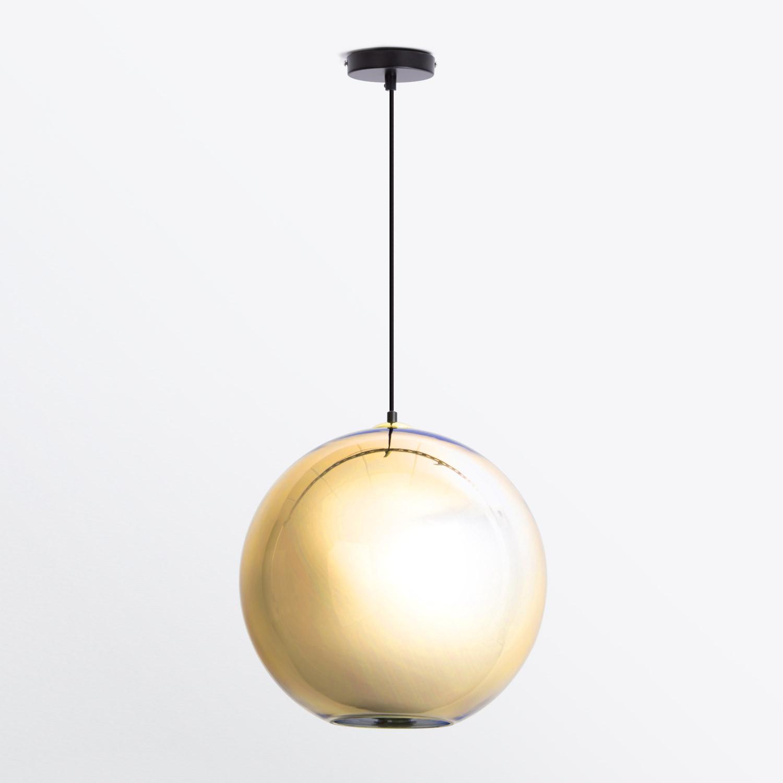 Lámpara de Techo en Cristal Cobre 40, imagen de galería 1