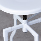 Taburete Alto Regulable en Acero Screw (62-75 cm), imagen miniatura 5