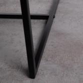 Mesa de Centro Rectangular Elevable en MDF (100x83 cm) Lisi, imagen miniatura 8