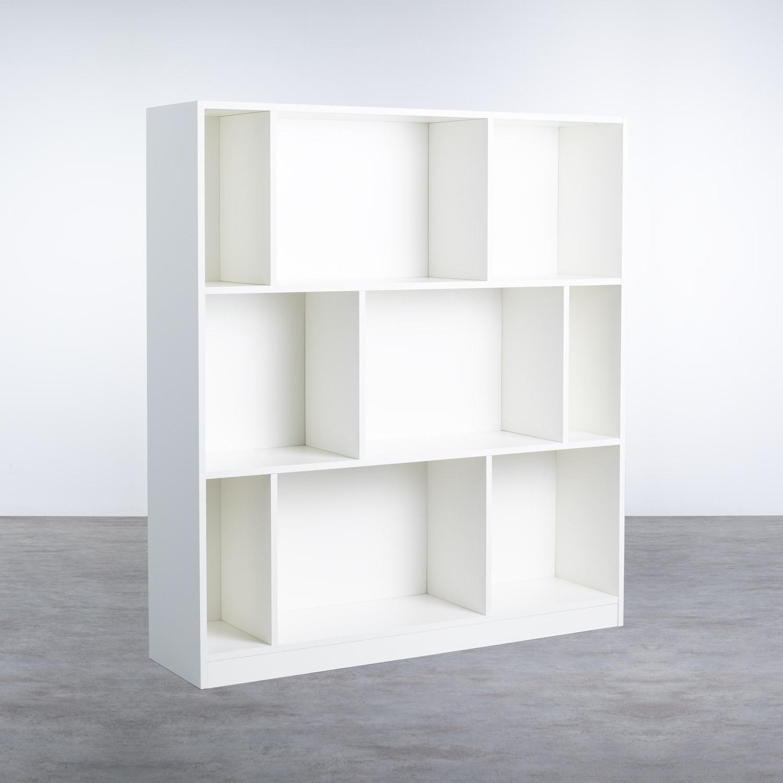 Estantería en Melamina (129x117 cm) Geko, imagen de galería 1