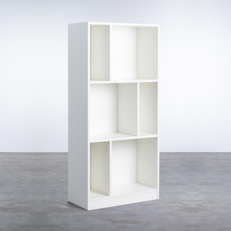 Estantería en Melamina (129x60 cm) Geko , imagen de galería 1