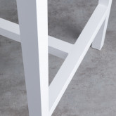 Mesa Alta de Exterior en Aluminio (120x70 cm) Korce, imagen miniatura 8