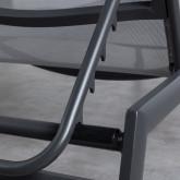 Tumbona Reclinable de Tela Y Aluminio Miko, imagen miniatura 8