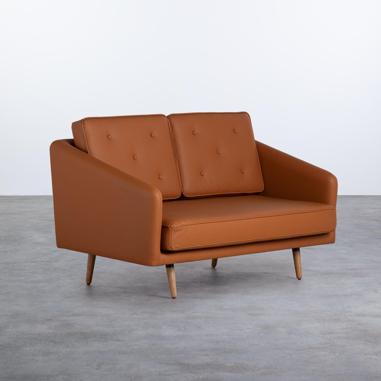 Sofá de 2 Plazas en Tela o Polipiel Tuk, imagen de galería 1