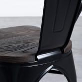 Silla Industrial - Powdercoating Black, imagen miniatura 7