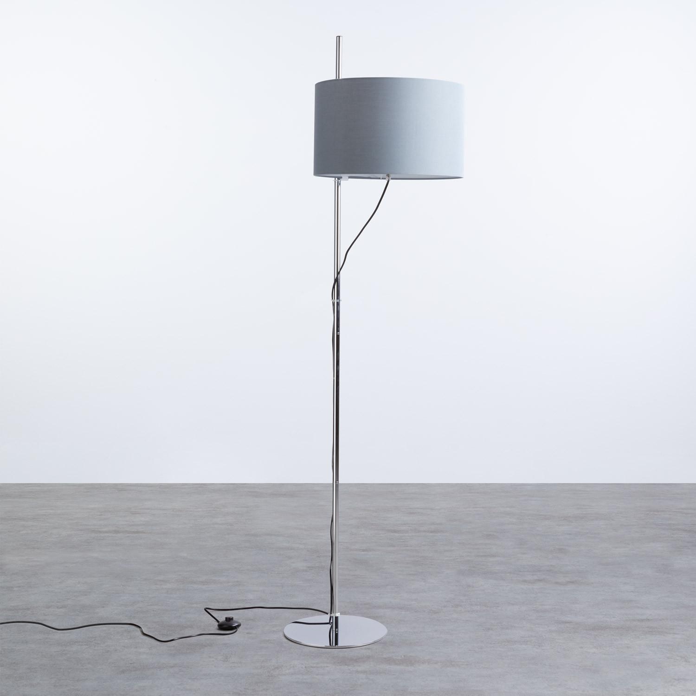 Lámpara de Pie en Tela y Metal Lipa, imagen de galería 1
