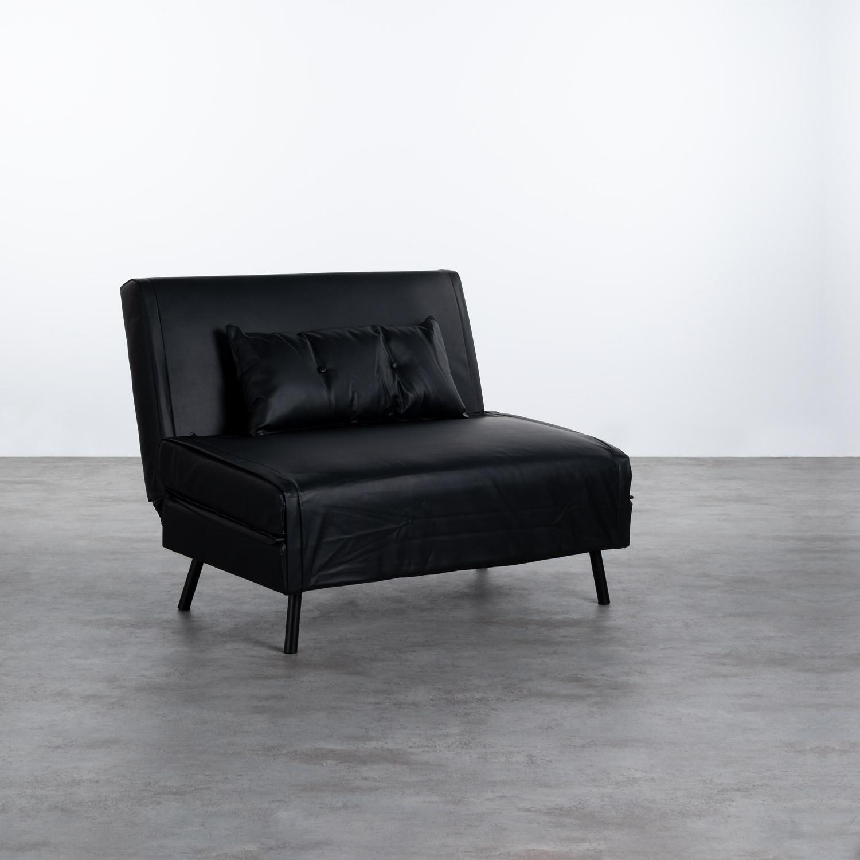 Sofá Cama Individual en Polipiel Rey, imagen de galería 1