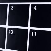 Pizarra De Vinilo Adhesivo Calendar Con 5 Tizas, imagen miniatura 2