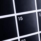 Pizarra De Vinilo Adhesivo Calendar Con 5 Tizas, imagen miniatura 3