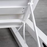 Tumbona Doble Reclinable de Tela y Aluminio Kewin, imagen miniatura 8