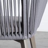 Silla de Exterior en Aluminio y Cuerda Xile, imagen miniatura 6