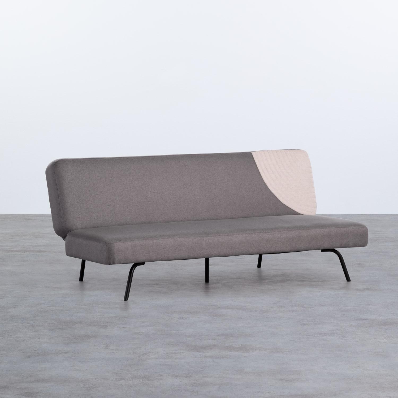 Sofá Cama de 3 Plazas en Tela Starky, imagen de galería 1