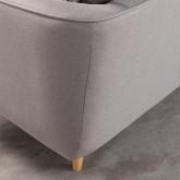 Sofá Chaise Longue Derecha 4 Plazas en Tela Rhemy, imagen miniatura 7
