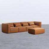Sofá Modular con Puff en Nobuk Kilhe, imagen miniatura 2
