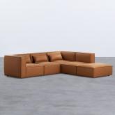 Sofá Modular con Puff en Nobuk Kilhe, imagen miniatura 3