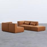 Sofá Modular con Puff en Nobuk Kilhe, imagen miniatura 4