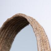 Espejo de Pared Redondo Madera (Ø40 cm) Banli, imagen miniatura 4