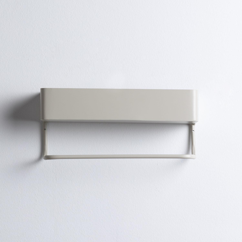 Perchero de Pared Rectangular en Metal Ceto, imagen de galería 1