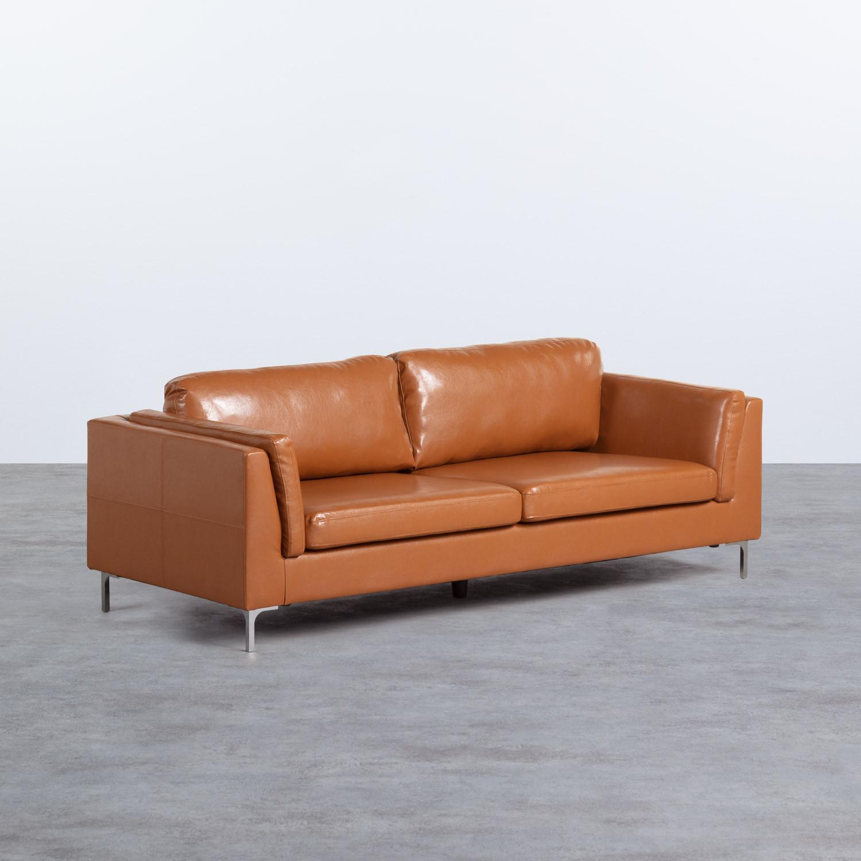 Sofá de 3 Plazas en Polipiel Andhy, imagen de galería 1